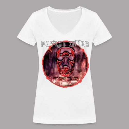 PSYCHO KILLER / T-SHIRT LADY #2 - Vrouwen bio T-shirt met V-hals van Stanley & Stella