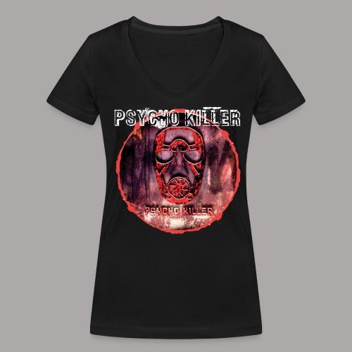 PSYCHO KILLER / T-SHIRT LADY #1 - Vrouwen bio T-shirt met V-hals van Stanley & Stella
