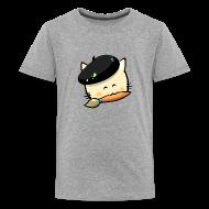 Shirts ~ Teenage Premium T-Shirt ~ Tshirt Hungry Cat (Teenage)