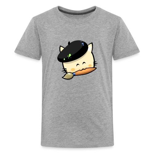 Tshirt Hungry Cat (Teenage) - Teenage Premium T-Shirt