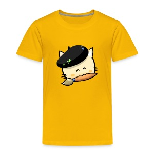 Tshirt Hungry Cat (Kid) - Kids' Premium T-Shirt