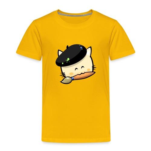 Tshirt Hungry Cat (Kid) - Kids' Premium T-Shirt