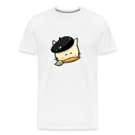 T-Shirts ~ Men's Premium T-Shirt ~ Tshirt Hungry Cat (Men)