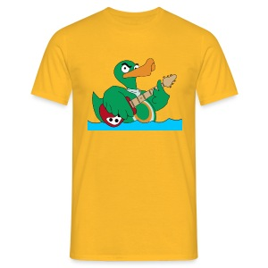 TP Shirt duck@rock - Männer T-Shirt