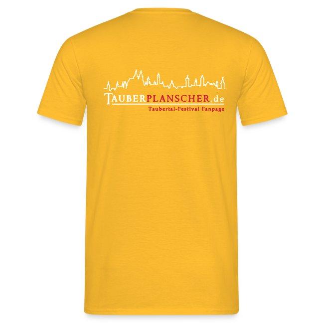 TP Flag-Shirt duck@war Logo weiss/rot