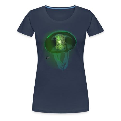 Green Fluorescent Protein - Women's Premium T-Shirt