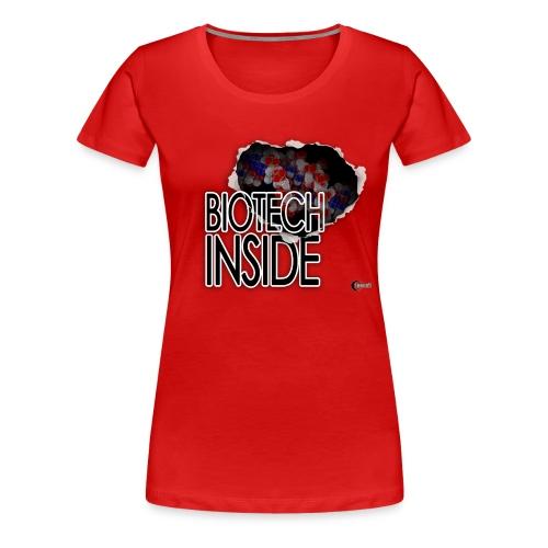 Biotech inside - Women's Premium T-Shirt