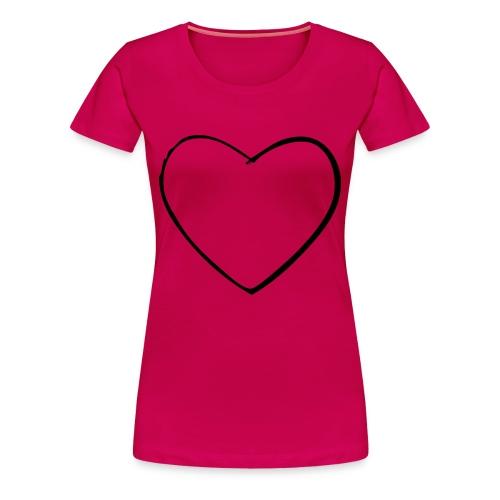 Vrouwen t-shirt met een plaatje - Vrouwen Premium T-shirt