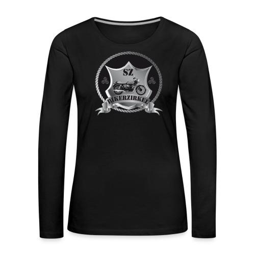 SZ Logo Groß, Rückentext Ohne - Frauen Premium Langarmshirt
