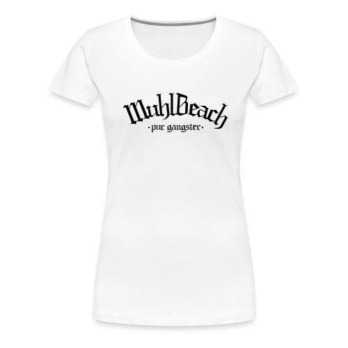 T-shirt Premium Femme - Muhlbeach Original Girl - White