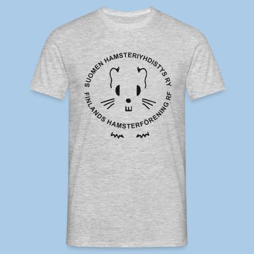 Miesten t-paita mustalla logolla - Miesten t-paita