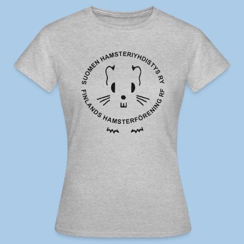 Naisten t-paita valkoisella logolla - Naisten t-paita