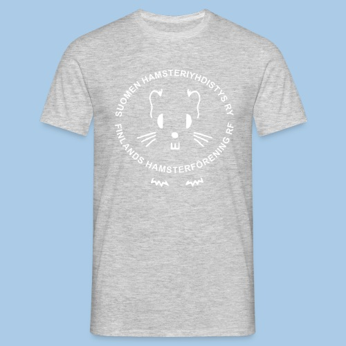 Miesten t-paita valkoisella logolla - Miesten t-paita