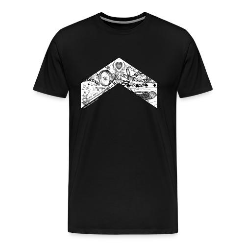 Louis Chevron by Zaynscremebrulee Mens shirt - Men's Premium T-Shirt