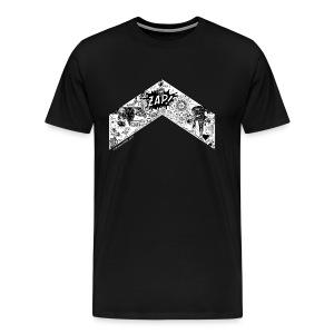 Zayn Chevron by Zaynscremebrulee Mens shirt - Men's Premium T-Shirt