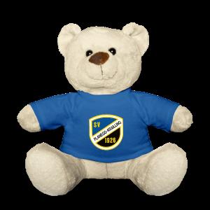 Teddy mit Vereinswappen - Teddy