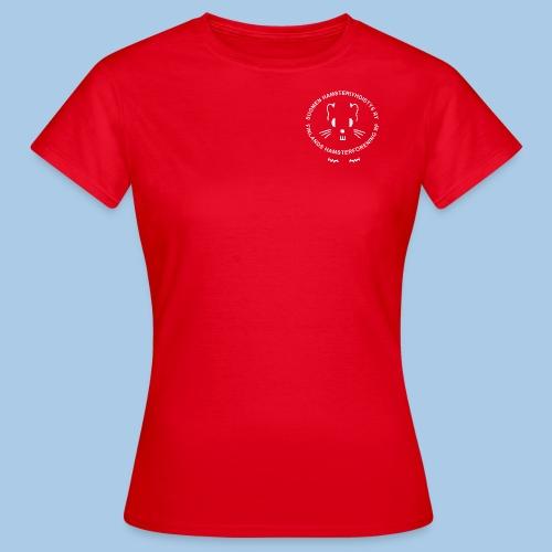 Naisten t-paita pienellä valkoisella logolla - Naisten t-paita