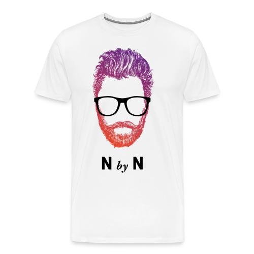 nerdybeard neon - Ricky - Männer Premium T-Shirt
