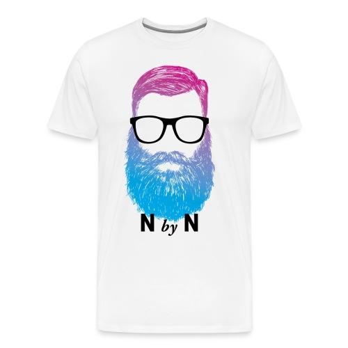 nerdybeard neon - Michael - Männer Premium T-Shirt