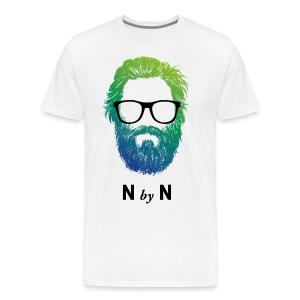 nerdybeard neon - Billy - Männer Premium T-Shirt