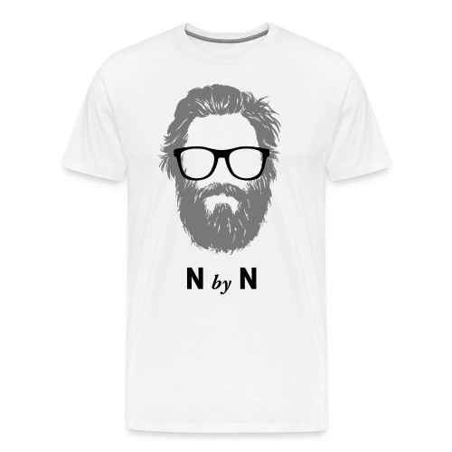Nerdy Beard Billy - Männer Premium T-Shirt