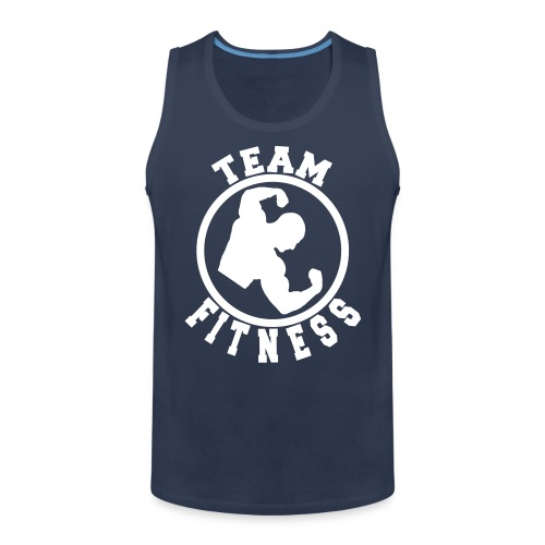 Team Fitness Tank Top - Men's Premium Tank Top