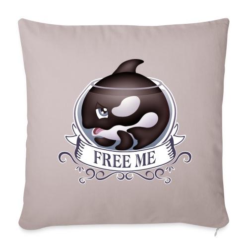 Free me - Housse de coussin décorative 45x 45cm