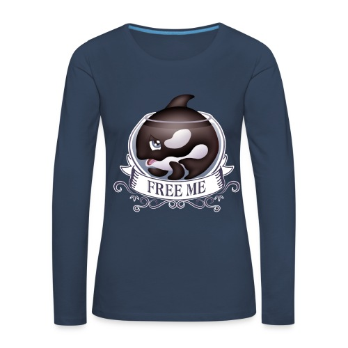 Free me - T-shirt manches longues Premium Femme