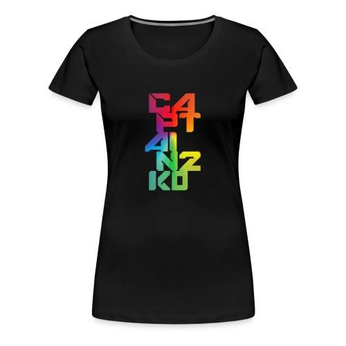 captain 2k0 female - Women's Premium T-Shirt