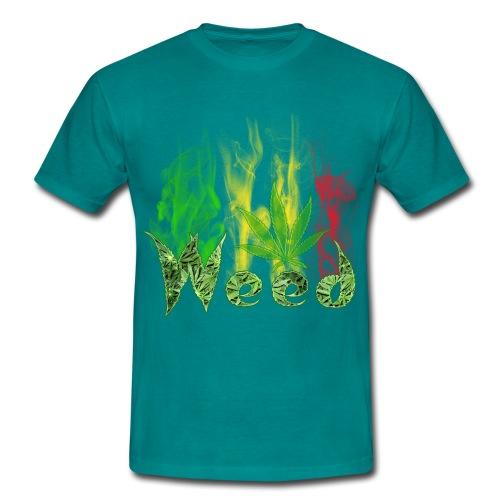 weed fantasy - Maglietta da uomo