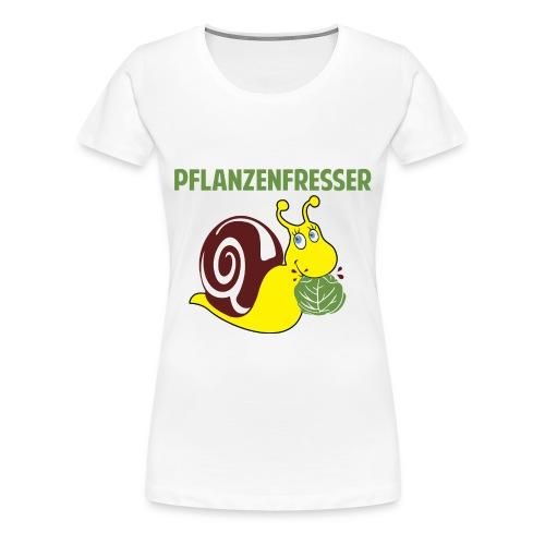 Pflanzenfresser - Frauen Premium T-Shirt