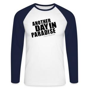 ADIP Shirt - Männer Baseballshirt langarm