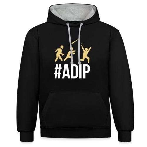 ADIP Hoodie - Kontrast-Hoodie