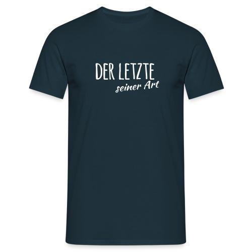 Der Letzte seiner Art - Männer T-Shirt