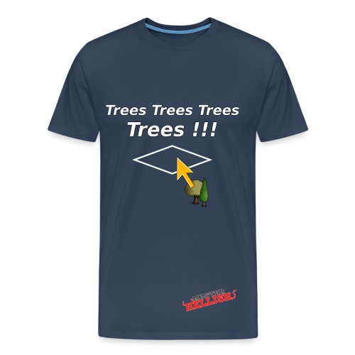 Trees  T-Shirt - Men's Premium T-Shirt