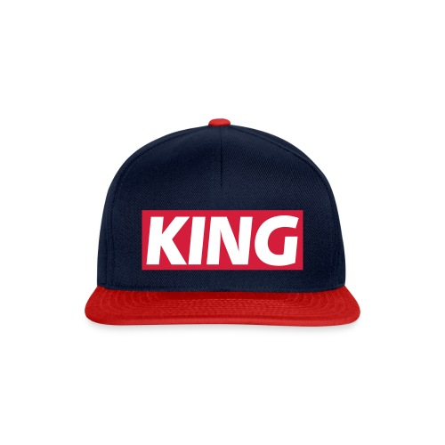 King Snapback Cap  - Snapback Cap