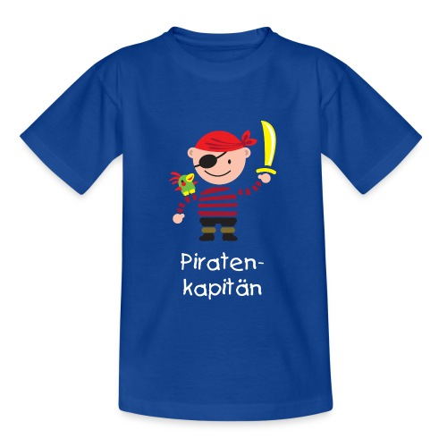 Piratenkapitän - Kinder T-Shirt