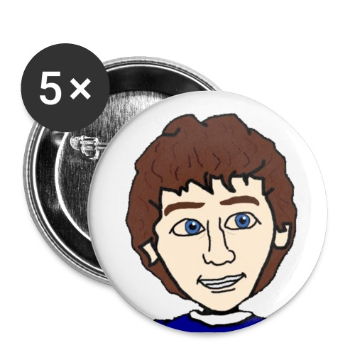 Master Hellish Pin - Buttons small 1''/25 mm (5-pack)
