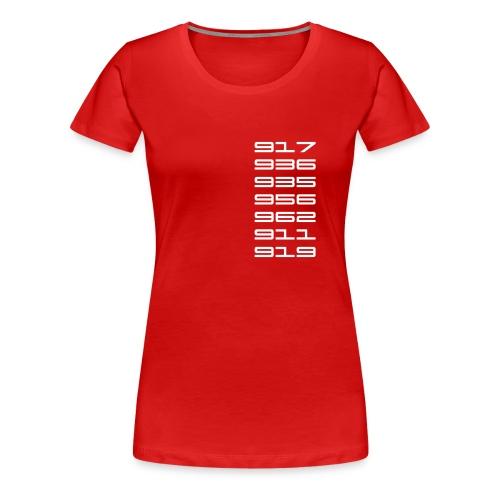 Le Mans 2015 919 Ladies - Women's Premium T-Shirt