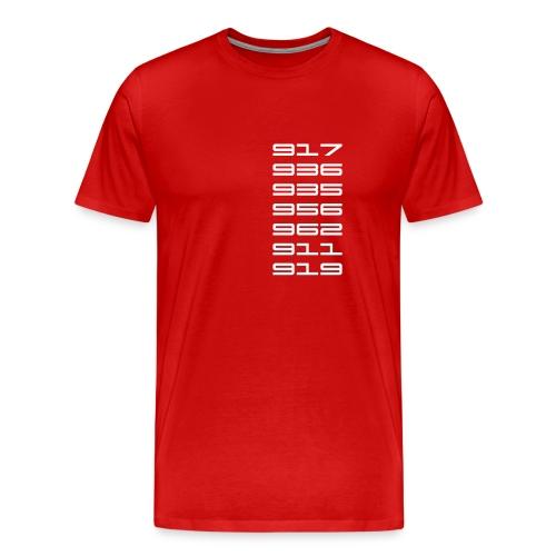 Le Mans 2015 919 - Men's Premium T-Shirt