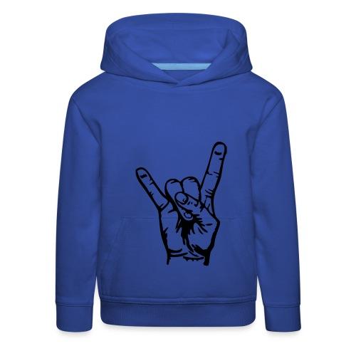 Blue What's Up Hoodie for kids - Kids' Premium Hoodie