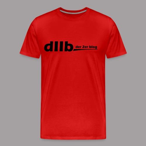 dIIb Shirt schwarze Schrift - Männer Premium T-Shirt