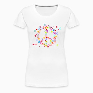 Peace Color Lady Shirt - T-shirt Premium Femme