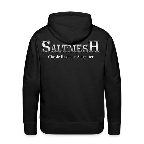 Saltmesh Hoodie (Schriftzug) - Männer Premium Hoodie