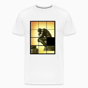 Rodin The Thinker Man Shirt - T-shirt Premium Homme
