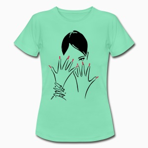 Pretty Nails Lady Shirt - T-shirt Femme