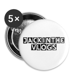 Jackinthevlogs bag - Buttons large 56 mm