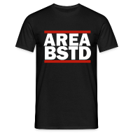 T-Shirts ~ Men's T-Shirt ~ AREA BSTD t-shirt