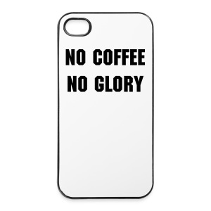 No Coffee No Glory - iPhone 4/4s Hard Case
