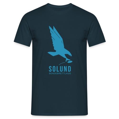 T-skjorte marineblå - T-skjorte for menn